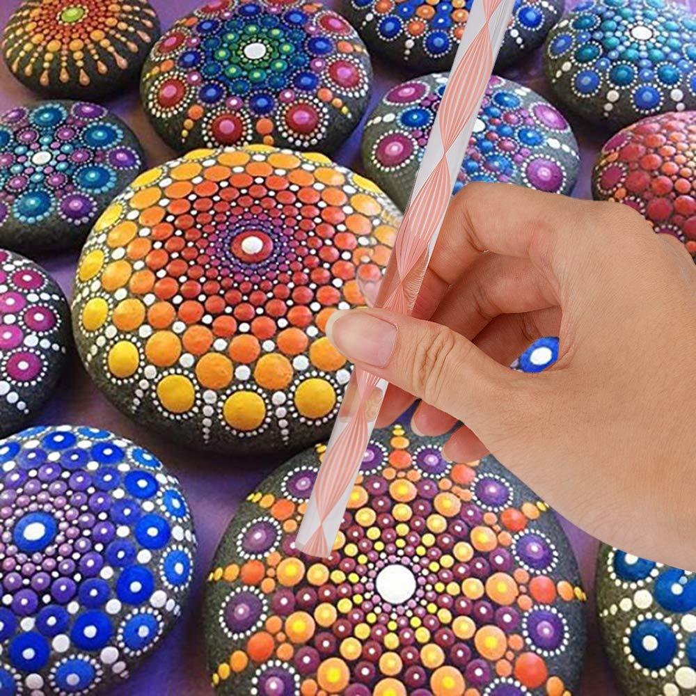 Steine Bemalen Und Mandala Bilder Entstehen